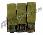 Full Clip Gen 2 TiPX Triple Mag Pouch - Digital Woodland