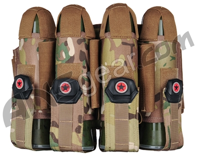 GI Sportz 4+5 Glide Paintball Harness - Multicam