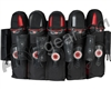 GI Sportz 5+8 Race Pack Paintball Harness - Black/Red