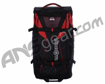 "GI Sportz Tankr 34"" Rolling Gear Bag - Black/Red"