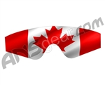 Goggle Skinz Lens Cover - JT Elite - Canadian Flag