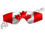 Goggle Skinz Lens Cover - Spectra - Canadian Flag