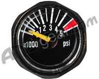 Guerrilla Air 4500psi Micro Tank Gauge - Black