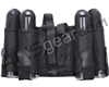 Gen X Global 4+1 Vertical Paintball Harness - Black