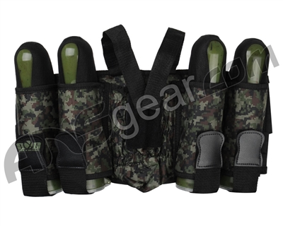 Gen X Global 4+1 Vertical Paintball Harness - Digi Camo