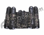 Gen X Global 4+1 Vertical Paintball Harness - Digital Camo