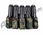 Gen X Global 5 Pod Slam Pack Paintball Harness - Woodland Camo
