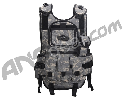 Gen X Global Tactical Vest Paintball Harness - ACU
