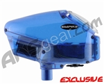 HALO B V35 w/ Rip Drive Paintball Loader - Diamond Blue