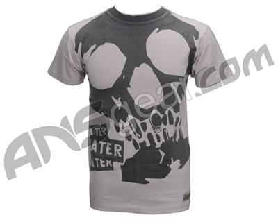 Hater 09 Paintball T-Shirt - Hate Skull - Cream