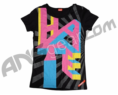 Hater 09 Women's Paintball T-Shirt - 3D Hate