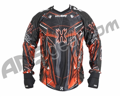 HK Army 2014 Hardline Paintball Jersey - Lava