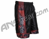 HK Army Basketball Shorts - Black/Red
