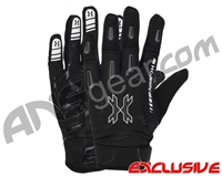 HK Army FULL FINGER Hardline Paintball Gloves - Blackout