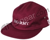 HK Army Buckle Times Dad Hat - Burgundy