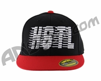 HK Army Flex Fit HSTL Hat - Black/Red