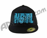 HK Army Flex Fit HSTL Hat - Black/Turquoise