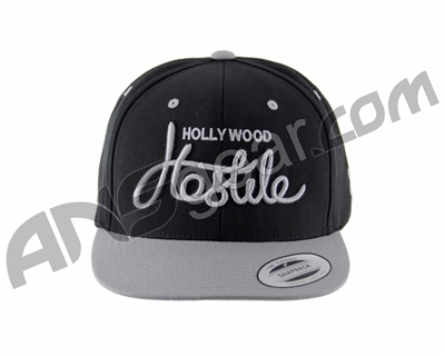 HK Army Snap Back Hollywood Hostile Hat - Grey