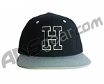 HK Army Snap Back H Hat - Black/Grey