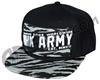 HK Army Snap Back Brushed Hat - Grey/Black