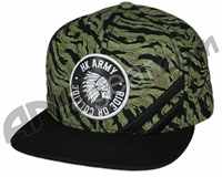 HK Army Snap Back Collide Hat - Camo/Black