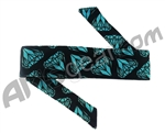 HK Army Headband - Diamond Black/Blue