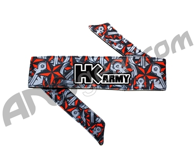 HK Army Headband - HK Nautical Red