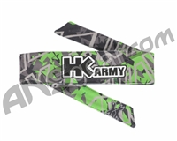 HK Army Headband - HK Shards Lime