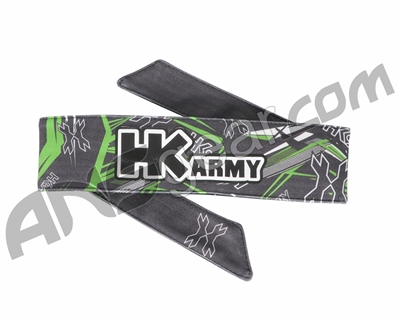 HK Army Headband - HK Thrasher Neon