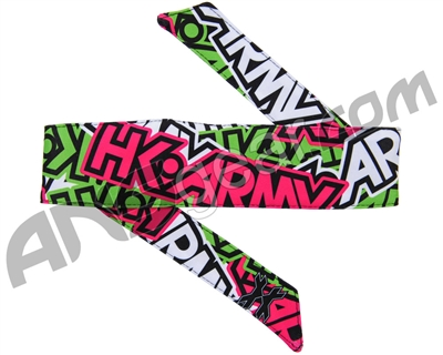 HK Army Headband - Radical Neon