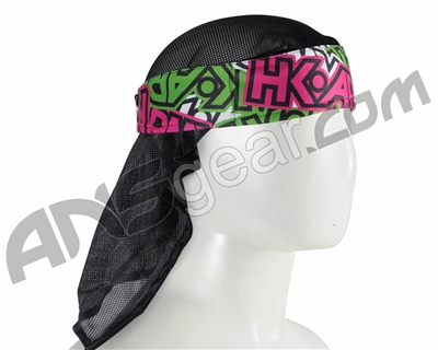 HK Army Headwrap - Radical Neon