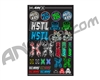HK Army HSTL Sticker Sheet
