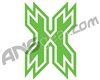HK Army Icon Car Sticker - Lime