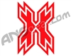 HK Army Icon Car Sticker - Red
