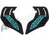 HK Army KLR Foam Soft Ears - Neon Teal