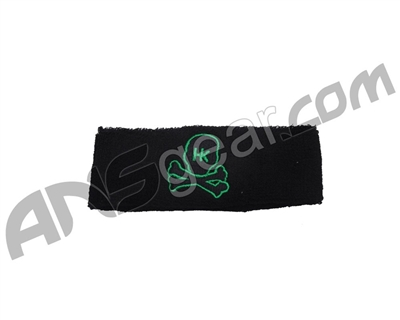 HK Army Skull Sweatband - Black/Green