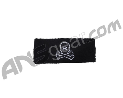 HK Army Skull Sweatband - Black/White