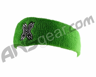 HK Army Icon Sweatband - Lime/Black