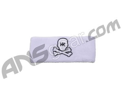 HK Army Skull Sweatband - White/Black
