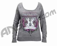 HK Army Crest Girl's Sweater - Grey