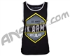 HK Army Carved Paintball Tank Top - Black