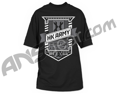 HK Army Badge Paintball T-Shirt - Black