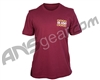 HK Army Cheatah Paintball T-Shirt - Burgundy