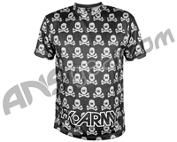 HK Army Dri Fit T-Shirt - All Over Black/Grey