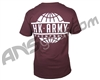 HK Army Global Paintball T-Shirt - Burgundy