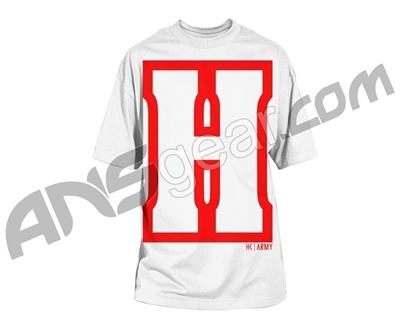 HK Army H Block Paintball T-Shirt - White