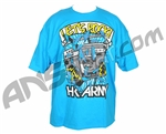 HK Army Lets Rock Paintball T-Shirt - Turquoise