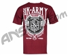 HK Army Monogram Paintball T-Shirt - Burgundy