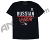 HK Army Russian Legion Formal Paintball T-Shirt - Navy