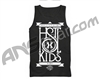 HK Army Stacked Paintball Tank Top - Black